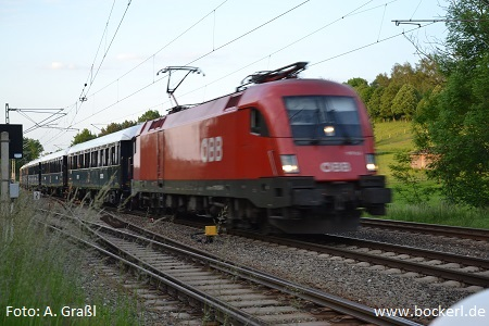 Orient-Express in Langenbach am 28.5.2016, Foto: Graßl